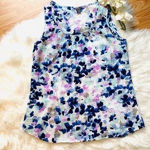 🌿Eddie Bauer Sleeveless Floral Top Size TM